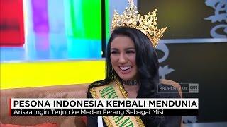 Pesona Indonesia Kembali Mendunia , Ariska Putri Pertiwi