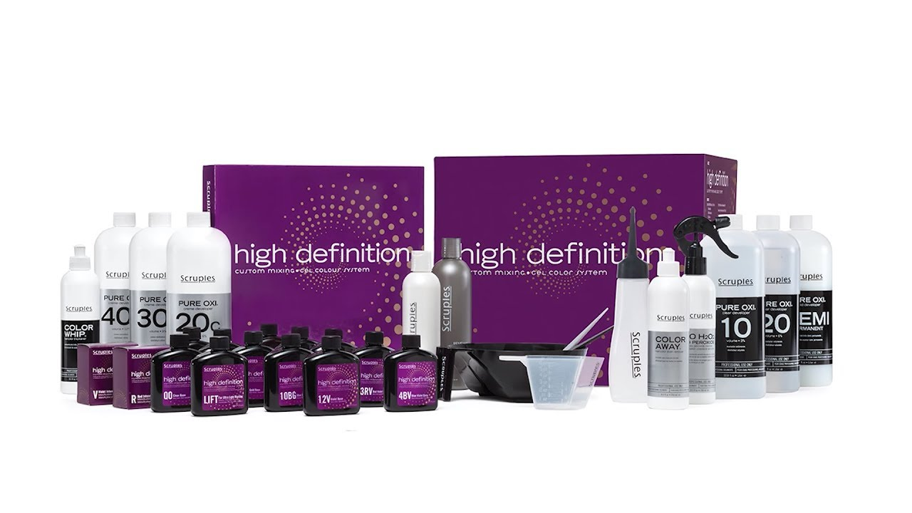 Scruples High Definition Custom Mixing Gel Color System