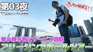 【シンガポール航空】第03夜 サービス満点!!チャンギ空港のトランジットツアーに参加