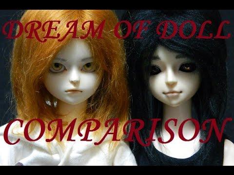 Dream of Doll DOC Comparison ~ Warning: Minor Doll Nudity!