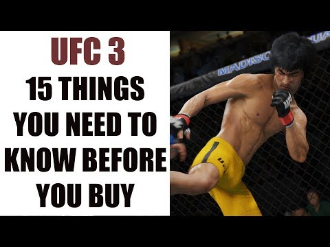 EA Sports UFC 3 - 15 Things You Need To Know Before You Buy