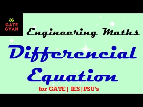 5.1 Differential equation