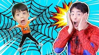 마슈! 슈퍼 히어로 스파이더맨으로 변신해서 도와주기 Mashu Super Hero Spider Man!!- 마슈토이 Mashu ToysReview