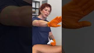 Live Bikini Wax with Berodin Blue
