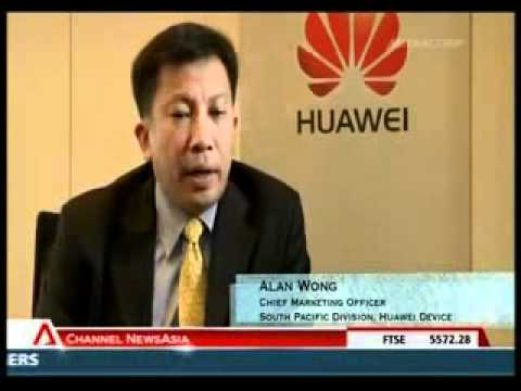 Huawei Device on Channel News Asia - Geared for growth 3 mins.flv