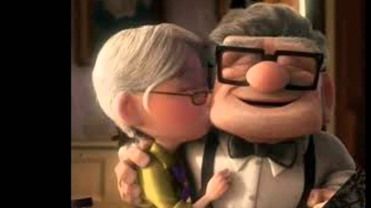 up ellie and carl relationship help