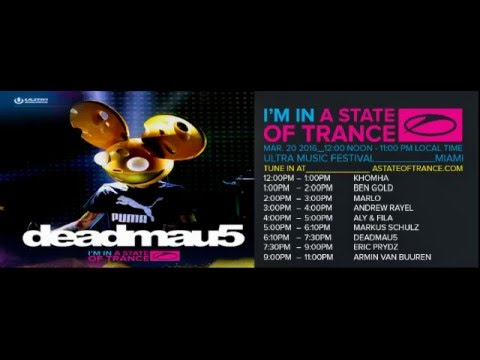 Deadmau5 - A State Of Trance Special Ultra Music Festival (Miami) - 20-MAR-2016