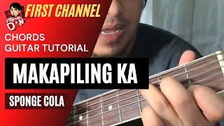 Baixar Makapiling Ka Guitar Chords Tutorial - Sponge Cola OPM Acoustic