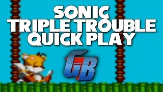 Sonic Triple Trouble Quick Play [60FPS] (Sonic Month)