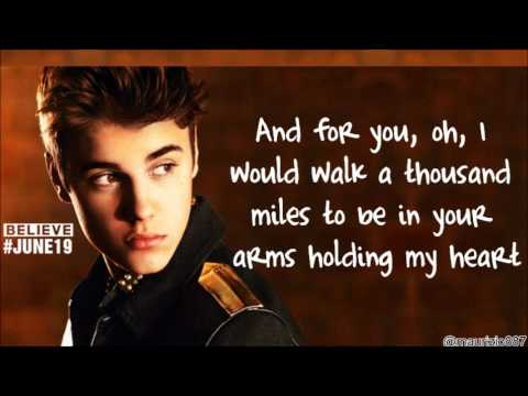 justin bieber be alright lyrics