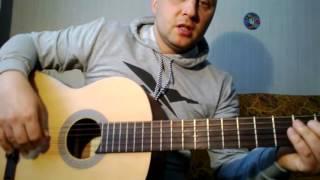 Самая простая мелодия на гитаре  Урок