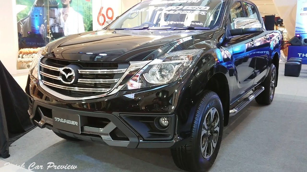 Quick Preview 2019 Mazda Bt 50 Pro Thunder 2 2 Double Cab Hi Racer A T