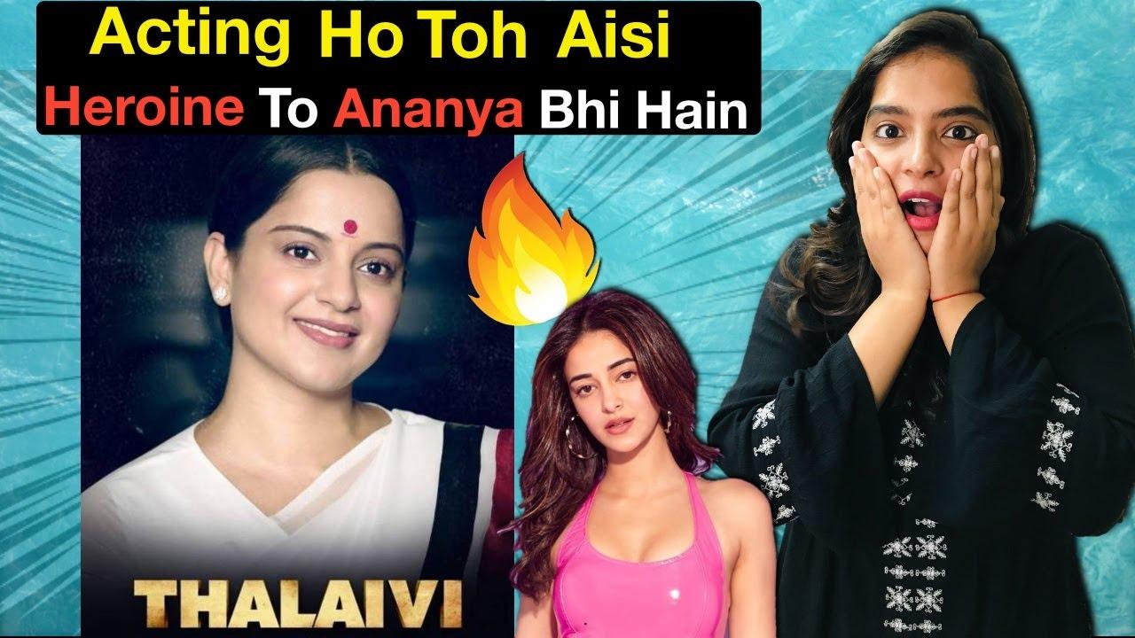 Thalaivi Movie REVIEW   Deeksha Sharma