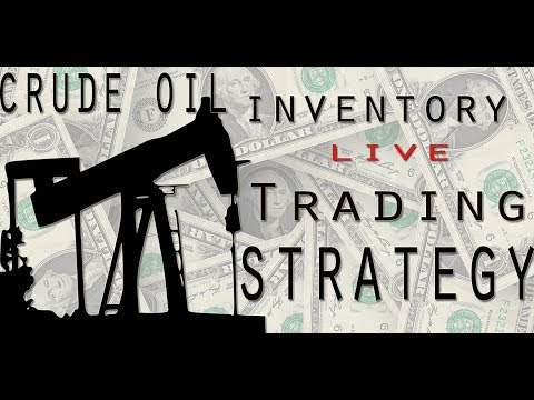 Crude Oil Inventory  Live Trading Strategy