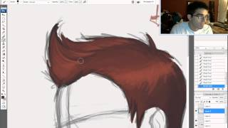 The KNKL Show Episode #43: How to draw HAIR!