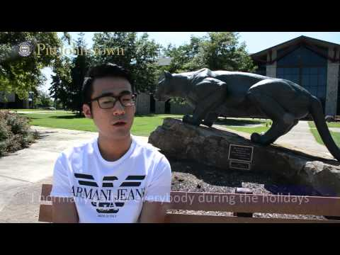 University of Pittsburgh Johnstown International Student Interview Xing Meng