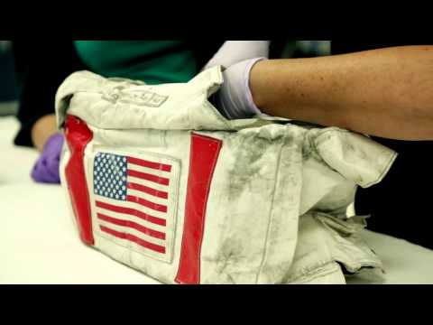 Looking at Moon Dust: An Apollo Artifact Comes Out of Storage
