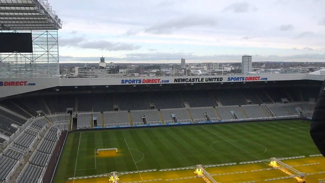Stadium Tour of St James Park Newcastle United England ...