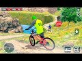 Bike Games - BMX Offroad Bicycle rider Superhero stunts racing - Gameplay Android free games