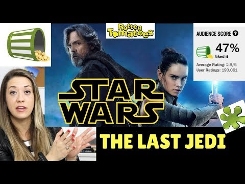 Star Wars: LAST JEDI Audience Score RANT!!!!