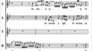 21 - Handel Messiah  Part 1 - His Yoke Is Easy - Bass