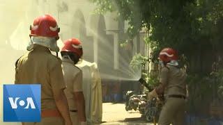 Mosque Disinfected in India After Coronavirus Measures Broken