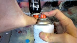 How To Transfer Spray Paint Into a Pocket Can