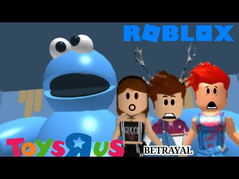 The BETRAYAL Of The Cookie Monster | Roblox Escape From Toys R Us