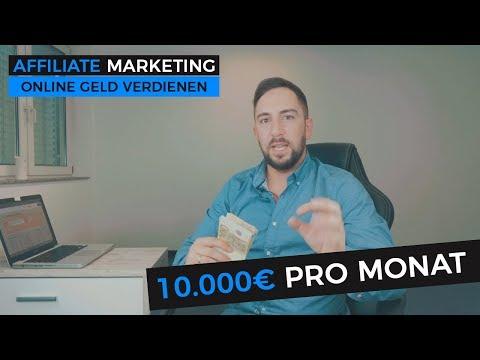 10.000€ pro Monat mit Affiliate Marketing - 5 Personen haben die Chance!