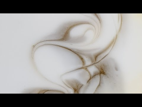 Resin art demo from start to finish/ Cool drizzle technique/ 10:30 actual pour