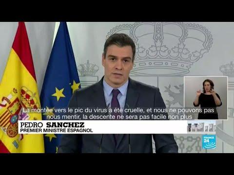 Coronavirus: Baisse du nombre de morts pour la quatrième journée consécutive en Espagne
