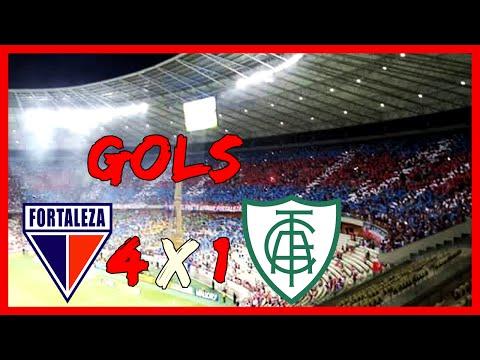 Fortaleza 4 x 1 América MG, GOLS Copa do Brasil 2016