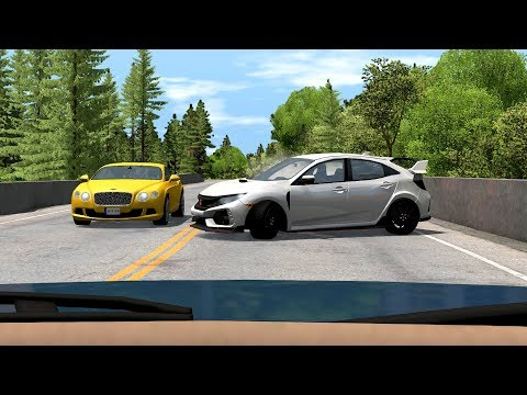 Dash Cam Car Crashes Compilation #18 - BeamNG.Drive