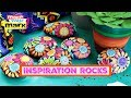 How to: Paint Inspiration Rocks