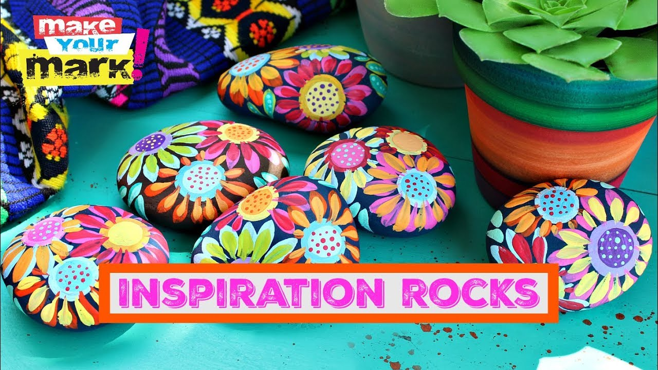 How to paint inspiration rocks youtube how to paint inspiration rocks solutioingenieria Images