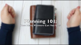 How Many Planners Can You Use?  ||  Video 5 in the #planner101 series