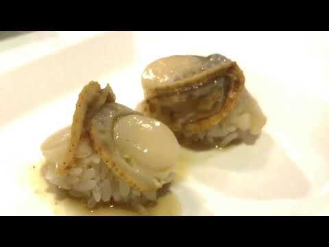 Scallop Nigiri (Hotate)