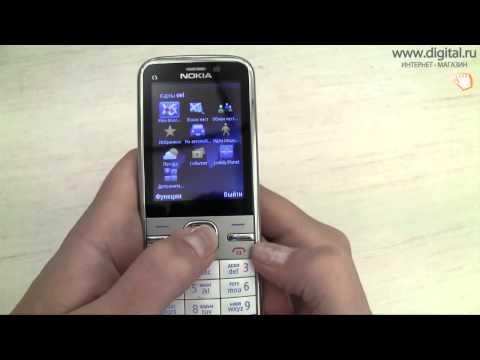 Видеообзор смартофона Nokia C5