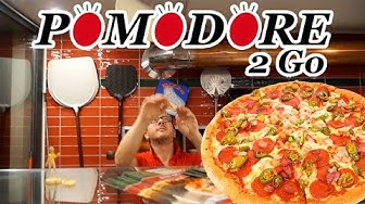 EIN TAG ALS PIZZA-FAHRER