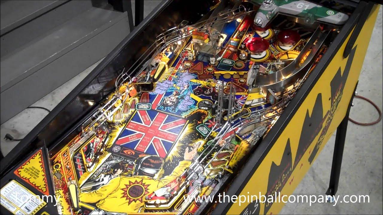 how to make a pinball machine
