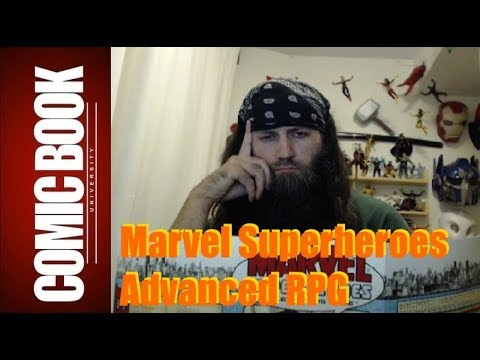 MSHRPG Explained 001 - What is FASERIP   COMIC BOOK UNIVERSITY