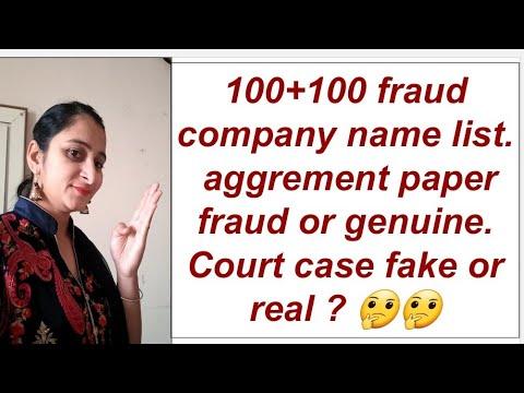 82 fraud companies