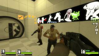 Left 4 Dead 2 - Portal 2 Easter Egg