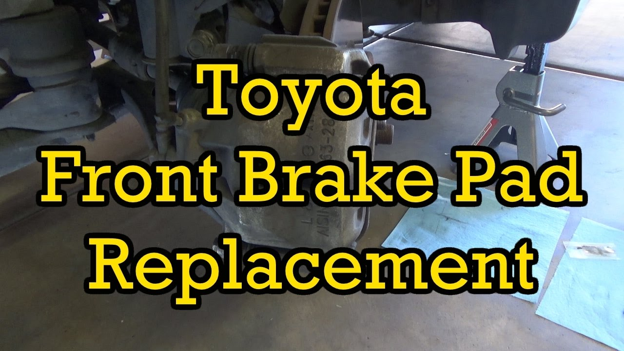 toyota sienna front brake pad replacement 2006 2004 2010 similar