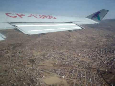 Lloyd Aéreo Boliviano-AeroSur B727-200 CP-1366 Cochabamba-Tarija 12/07/2009
