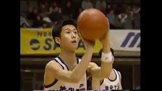 小野慶三選手大爆発 能代工業 対 金沢 ウィンターカップハイライト 1995年 [basketball]