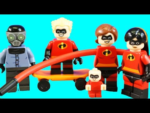 Incredibles 2 Lego Juniors Great Home Escape And Elastigirls Rooftop Pursuit Toy Review
