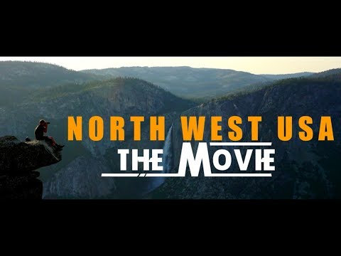 VOYAGE NORTH WEST ROAD TRIP USA (2017)  - AN EPIC JOURNEY- [ Sony A6000 ]