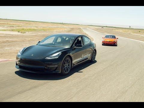 Unplugged Performance Tesla Model 3 & Model S Track Testing