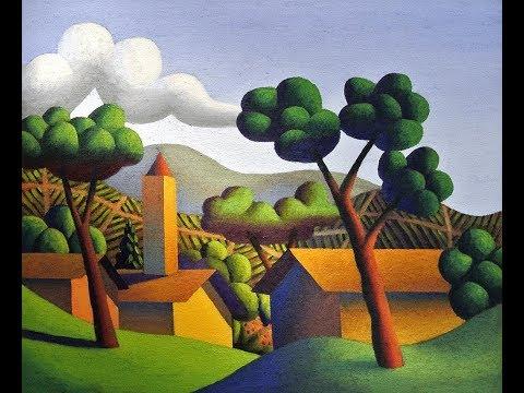 """workshop pastelli e matite """"Paesaggio"""""""